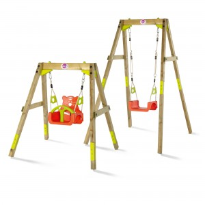 Plum Wooden Growing Swing Image
