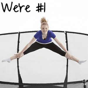 Plum Ranked Best Trampoline Brand