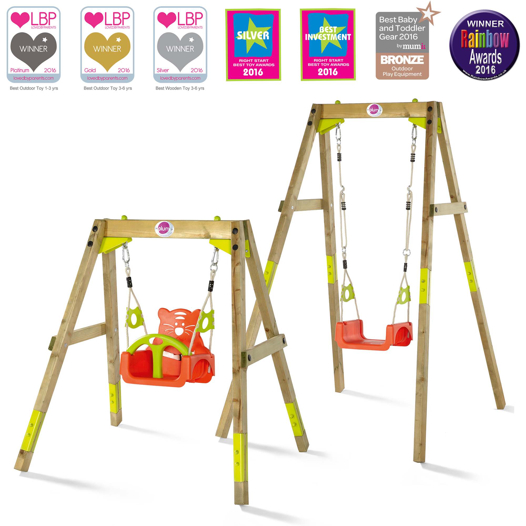 The Plum Must-have Award Winning Swing Set!