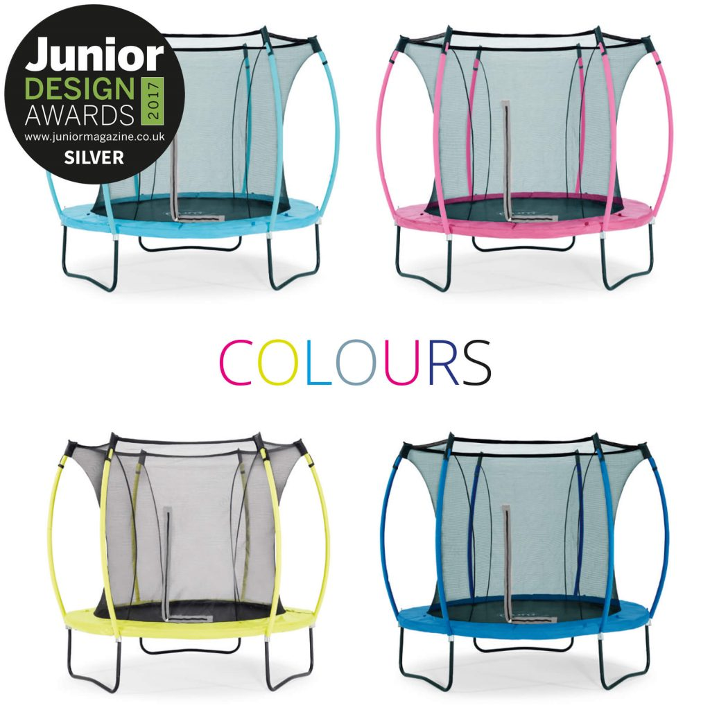 Plum Colours Trampoline Silver Junior Design Award