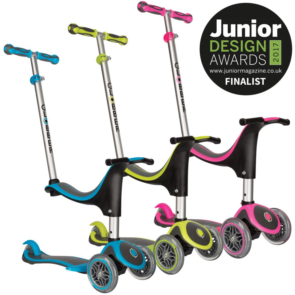 Globber Evo 4-in-1 Plus Scooter Junior Design Awards Finalist