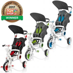 Revolutionary  4-in-1 Strollcycle™ For Kids