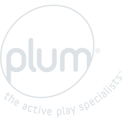 Plum Mangabey Wooden Swing Set with Trapeze and Double Swing