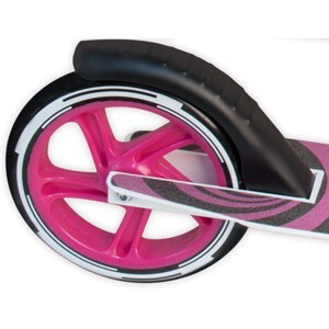 muuwmi 180 pink rear brake