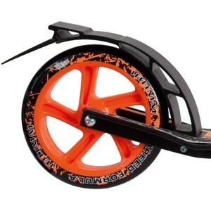 No Rules 180 Orange rear brake