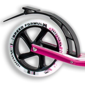 No Rules 180 pink rear brake
