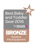 2016 Best Baby & Toddler Gear Award - Bronze - Wooden Growing Swing