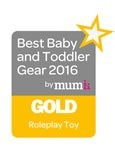 2016 Best Baby & Toddler Gear Award - Gold - Pink Lemonade Cabin Kitchen