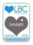 2018 Loved By Children - Platinum - Discovery Mud Pie Kitchen