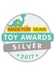 2017 Made For Mums Award - Silver - Evo 5-in-1 Scooter