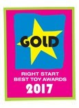 2017 Right Start Award - Gold - Colours Trampoline