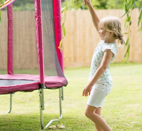 Positioning your Trampoline