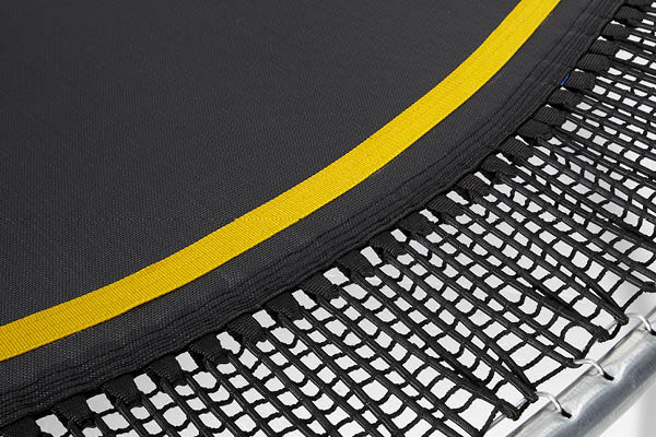 Web Springsafe Trampoline - Yellow Trim