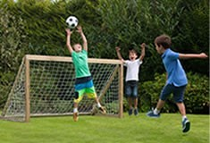 Plum Outdoor Football Goal