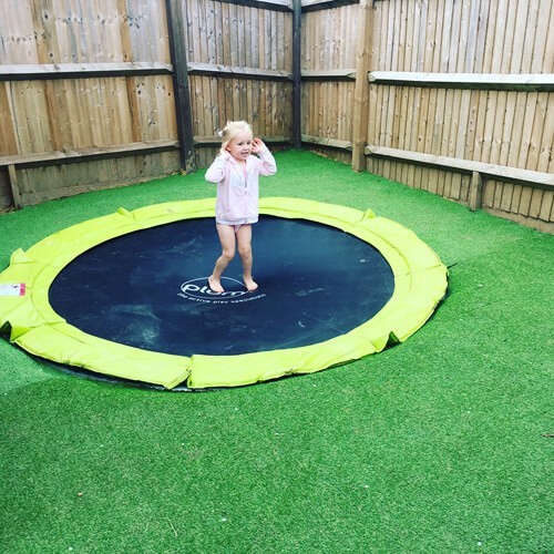 PLUM IN-GROUND TRAMPOLINE