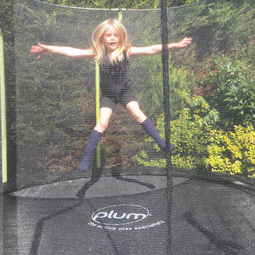 Plum Life at Play Wave Trampoline