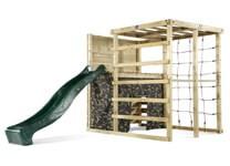 plum play wooden climbing cube climbing frame